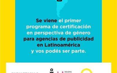 El primer programa de Certificación en Perspectiva de Género Latinoamérica